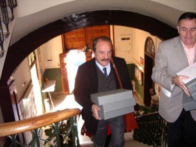 Els reis mags porten el PGOU a l'Ajuntament de Monòver